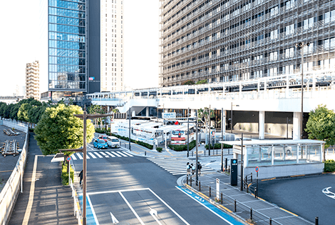 Osaki Station West Exit Bus Terminal