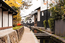 Seto River and White Wall Storehouse Street