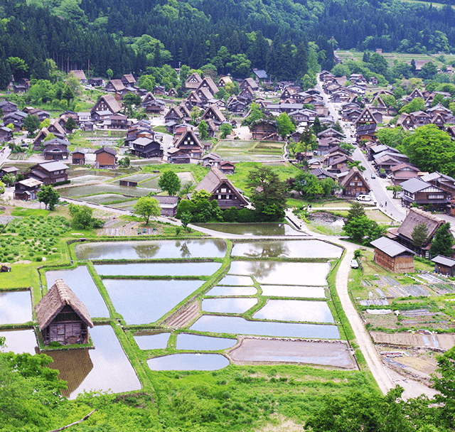Shirakawa-go historical village