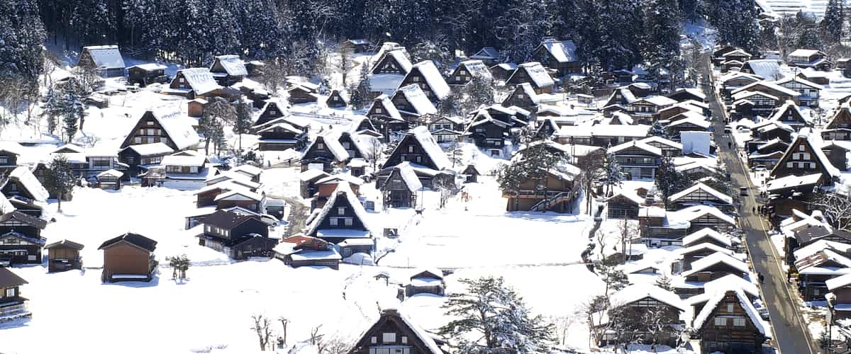 World Heritage Trip to visit the historical village of Gokayama Ainokura and Shirakawa-go