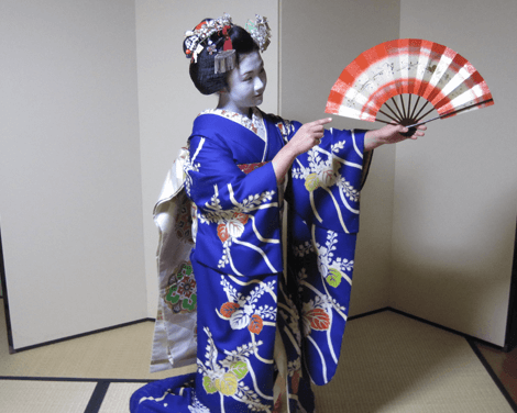 GW-Maiko Dance & Kyoto Night View