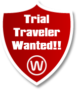 Trial Traveler Wanted!!