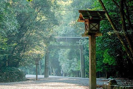 Ise Shrine Ise Jingu Naiku Kotai Jingu Ise Japan